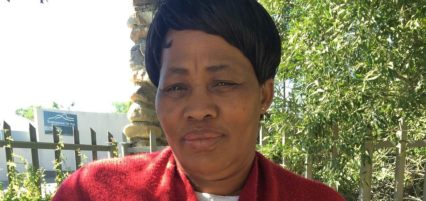 Sarah Zungu  N≠a Jaqna Conservancy Chairperson