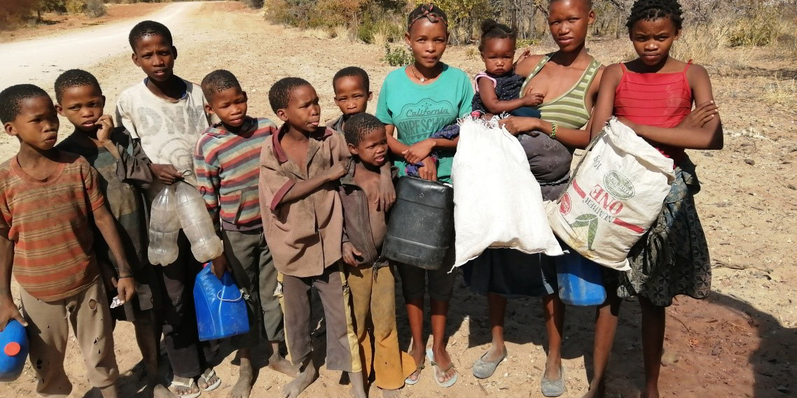 Women and children walking for up to 5km a day to access water in 2019